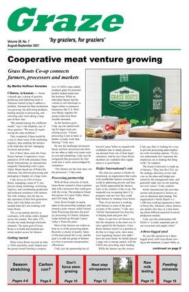 August-September 2021 print back issue